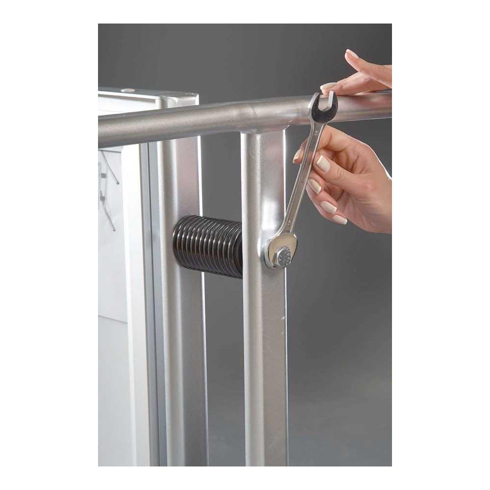 Gatebukk med vannsikring - enkel å montere