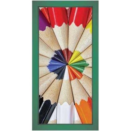 Plakatrammer i firmafarge med spesialmål