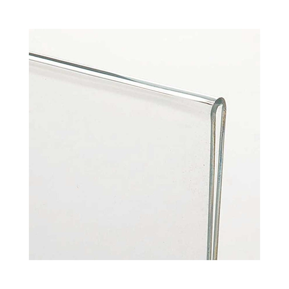 Menyholder horisontal, er produsert i 2mm plexi