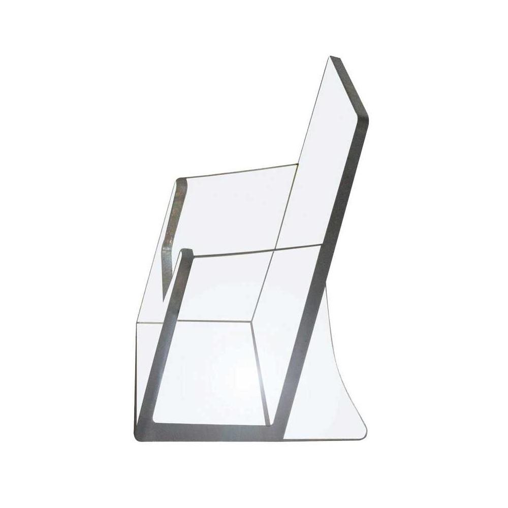 Visittkortholder sammen med andre produkter i plexi - akryl
