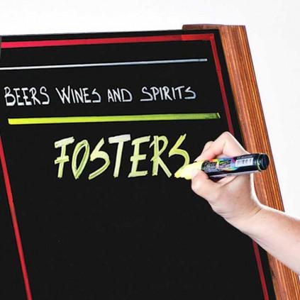 Whiteboard og tavle tusjer i bruk