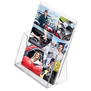 Brosjyreholder plexi til bord er et supert produkt til å vise frem brosjyrene dine