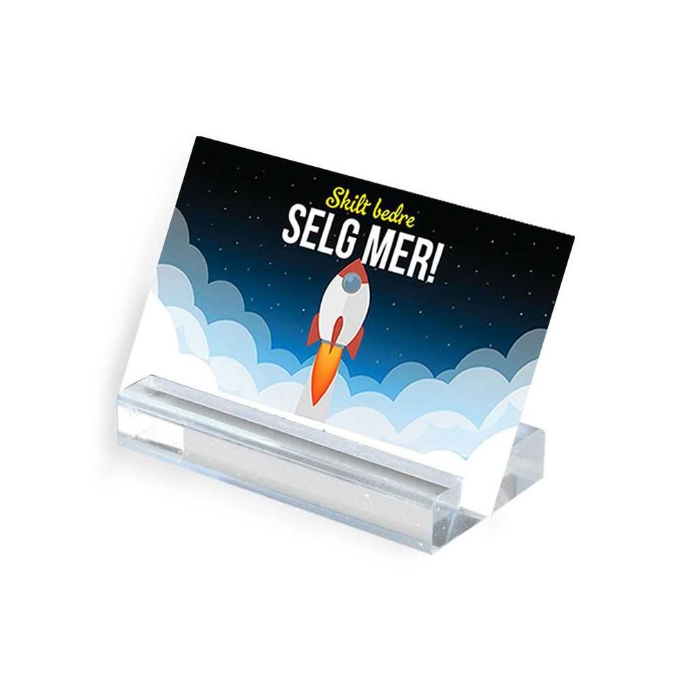 Moderne kortholder kan holde et eller flere kort