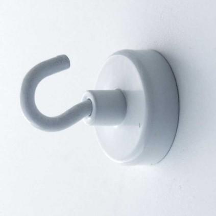 Magnet med krok til å henge på vegg eller tak