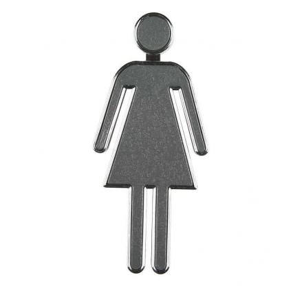Toalett skilt Dame
