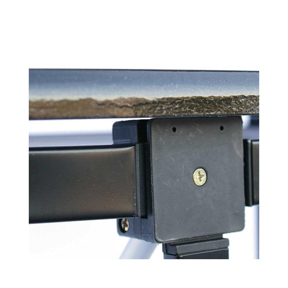 Messebord sammenleggbart, bordplaten legges enkelt på