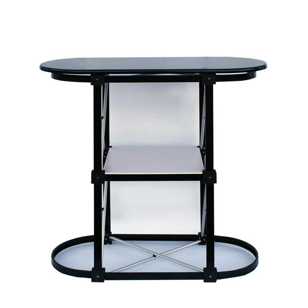 Messebord sammenleggbart, bilde uten print montert