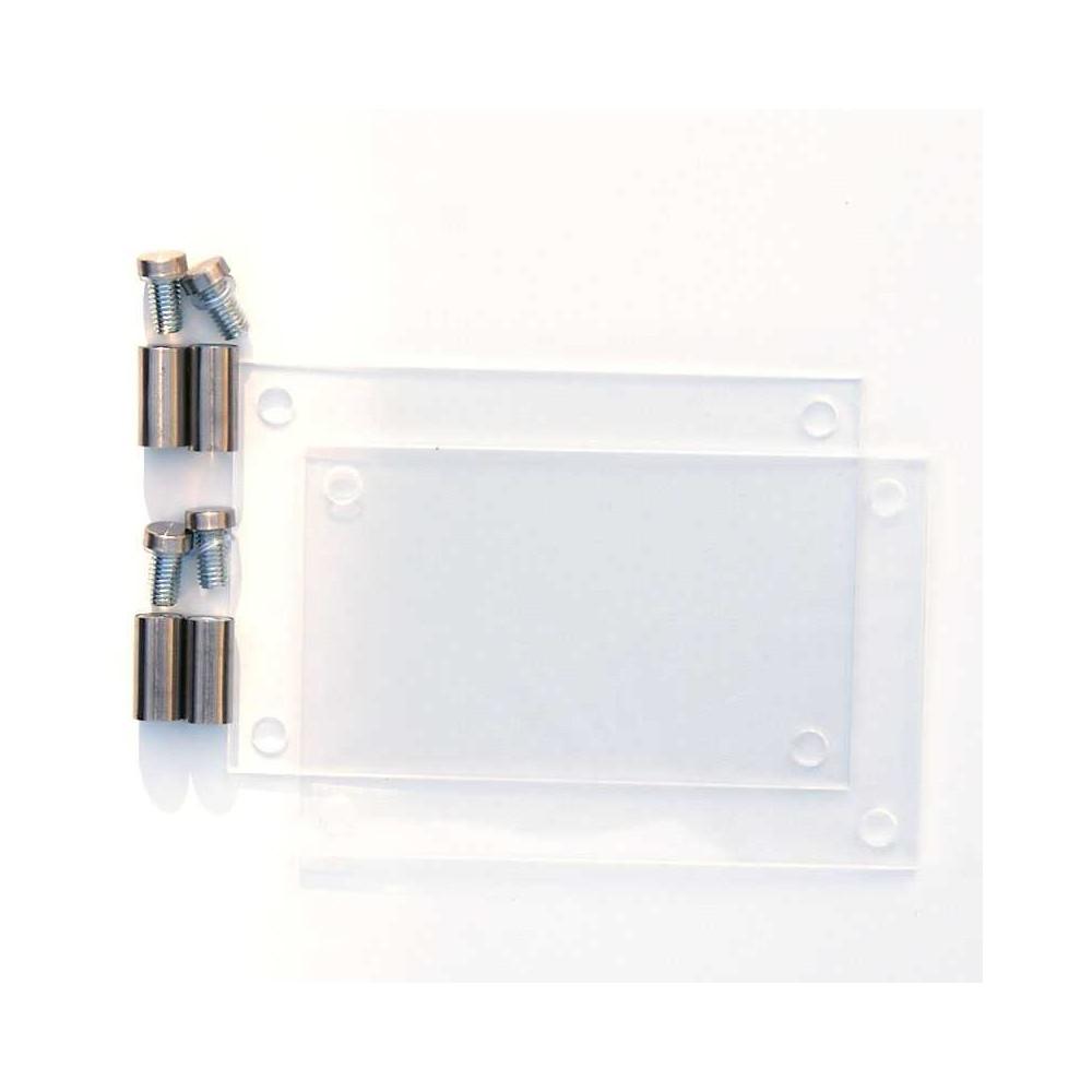 Dørskilt format 10x15 cm i deler