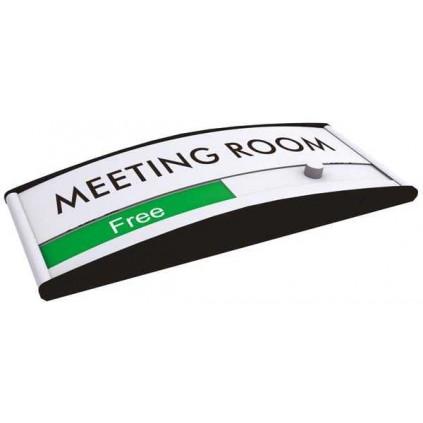 Ledig/opttat skilt møterom