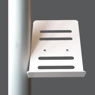 Brosjyreholder i hvit akryl til Reklamestativ A5 format