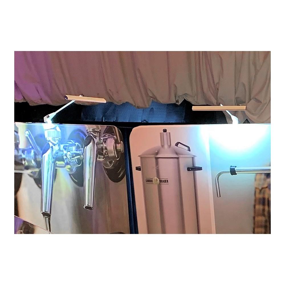 Ledlys til tekstilvegg lyser opp veggene dine
