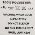 Tekstil trykk kan vaskes