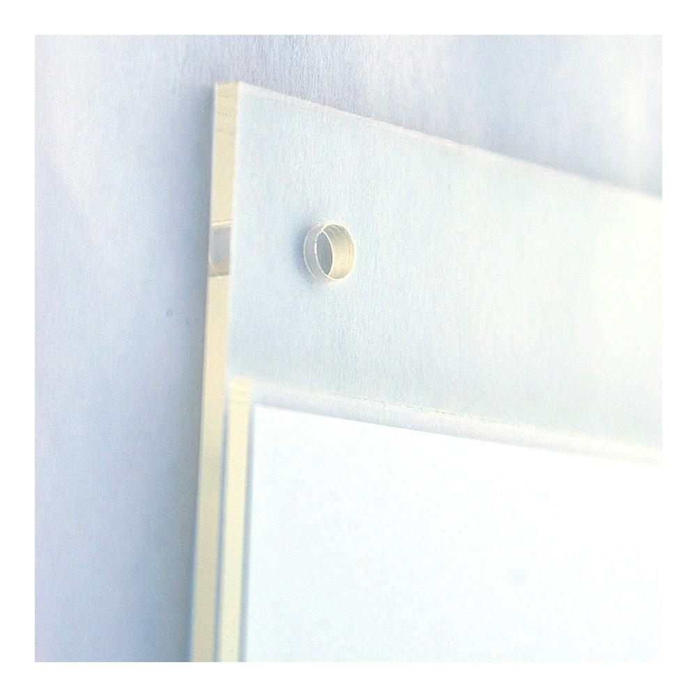 Plakat lomme plexi, enkel å henge opp på vegg