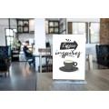Menyholder plexi er perfekt til bruk på cafeer og restauranter