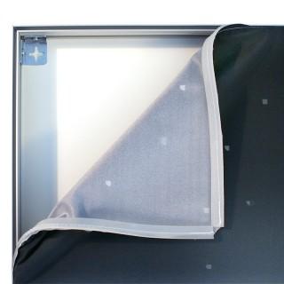 Tekstilduk til ramme m/silikonlist