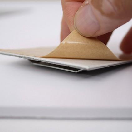 Plate oppheng med tosidig tape