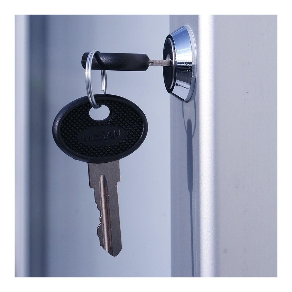 Solid Låsbar oppslagstavle for utendørs bruk er låsbar