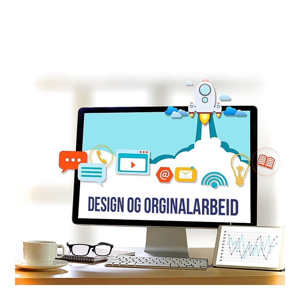 Design og originalarbeid