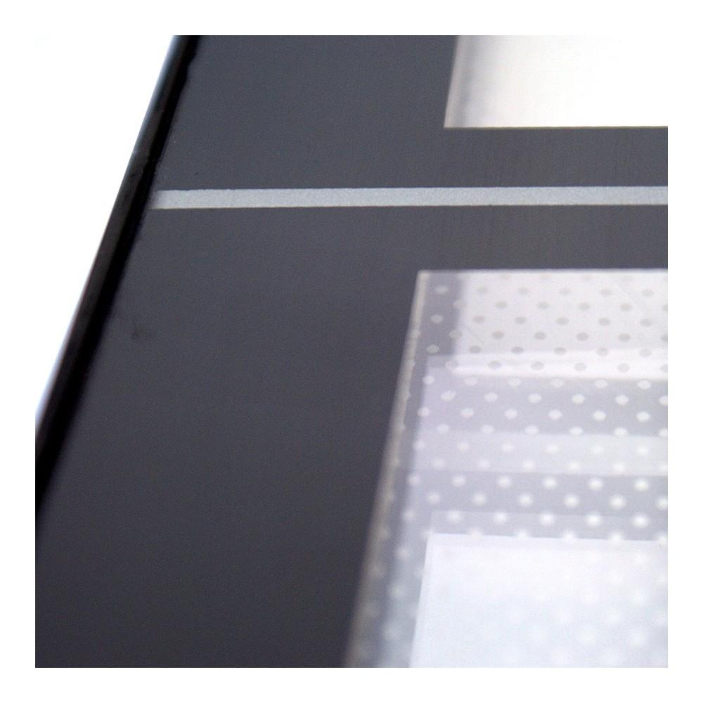 Led lysskilt for utebruk - detalj av frontplate