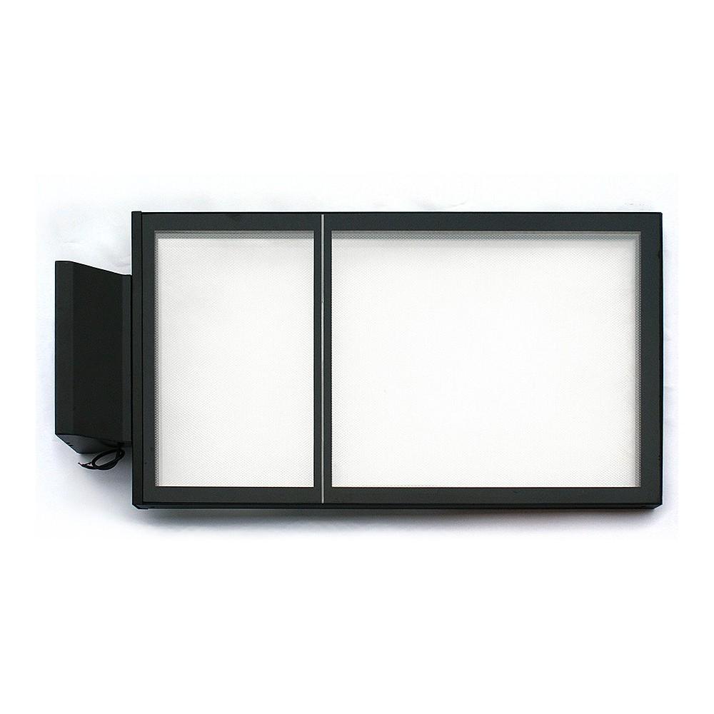 Led lysskilt for utebruk uten print eller lys
