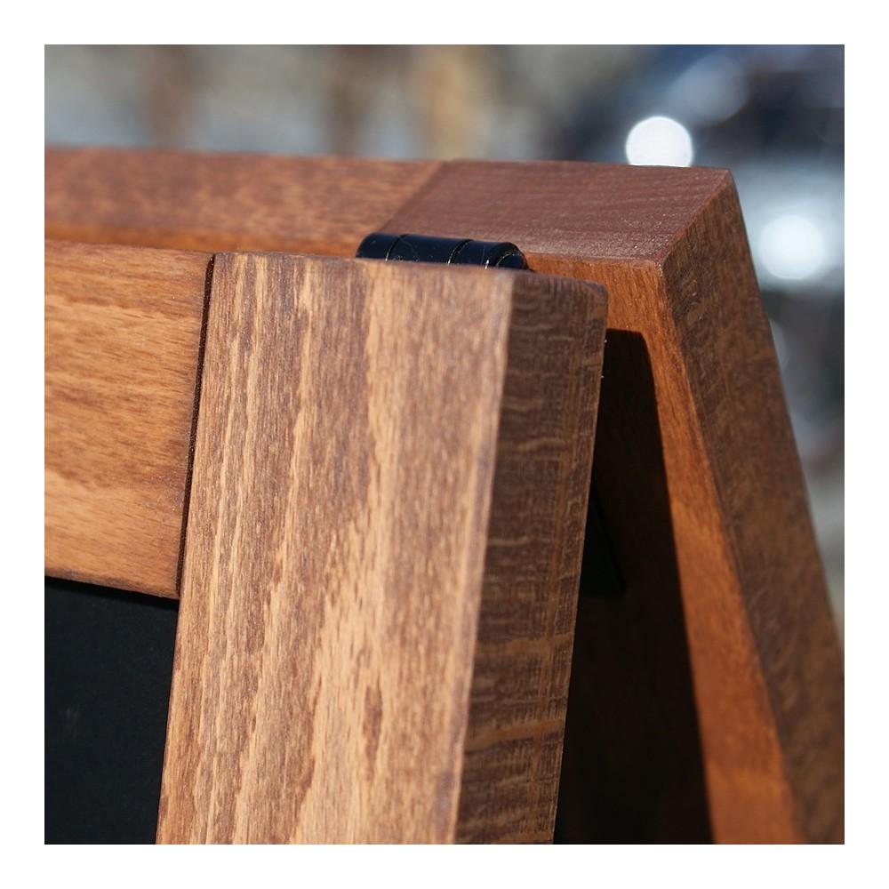 Gatebukk med magnetisk tavle kan også brukes ute