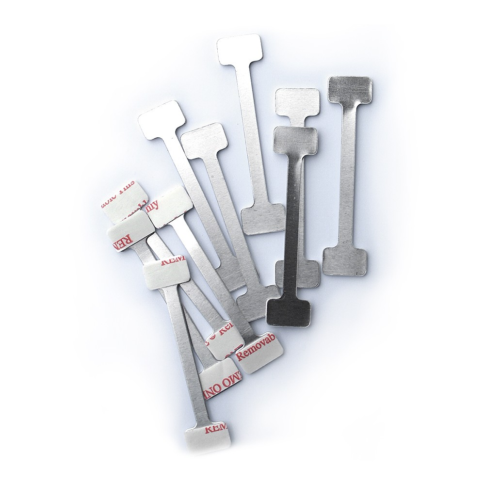 Vippetass i metall selges i 10 pakke eller 100 pakke