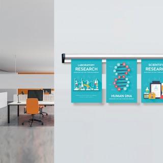Plakatlist til oppheng av beskjeder er perfekt til bruk på f.eks kontorer.