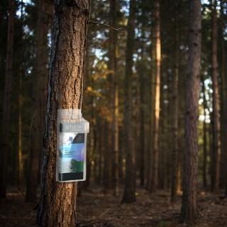 Brosjyreholder utebruk brukes gjerne av turlag og i parker.