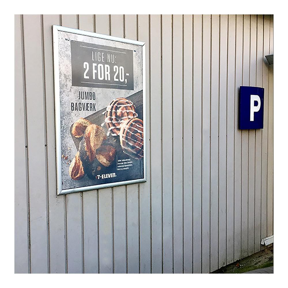 Plakatramme til å bruke ute