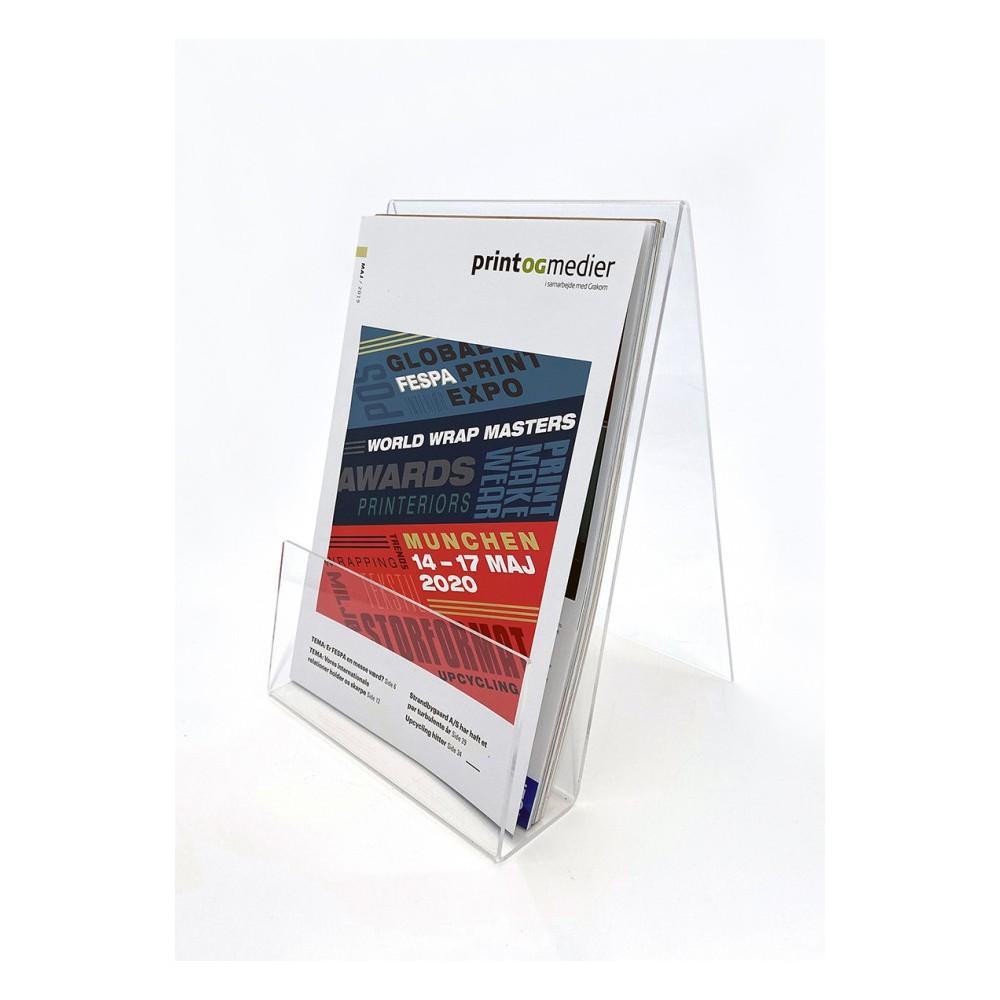 Plexi display kan også brukes til brosjyrer