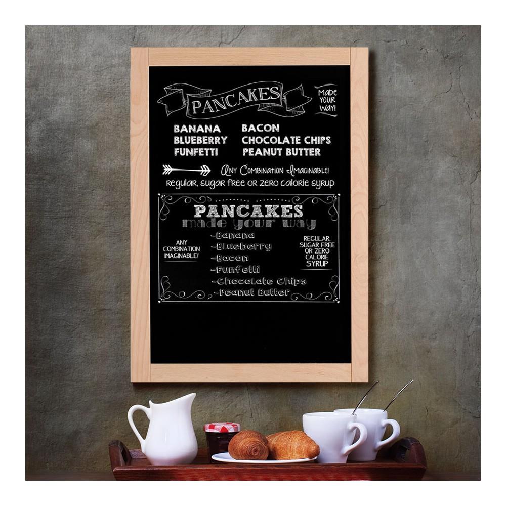 Krittavle med ramme er perfekt til bruk i cafe og resturant