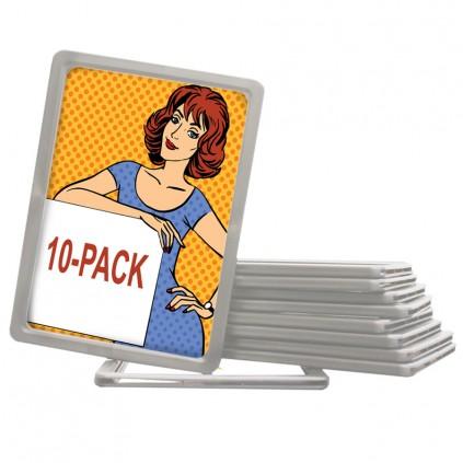 10 pakke med rammer til billig plakatstativ