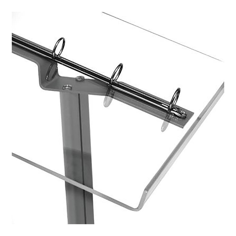 Meny Stand har brosjyreholder / menyholder i plexiglass