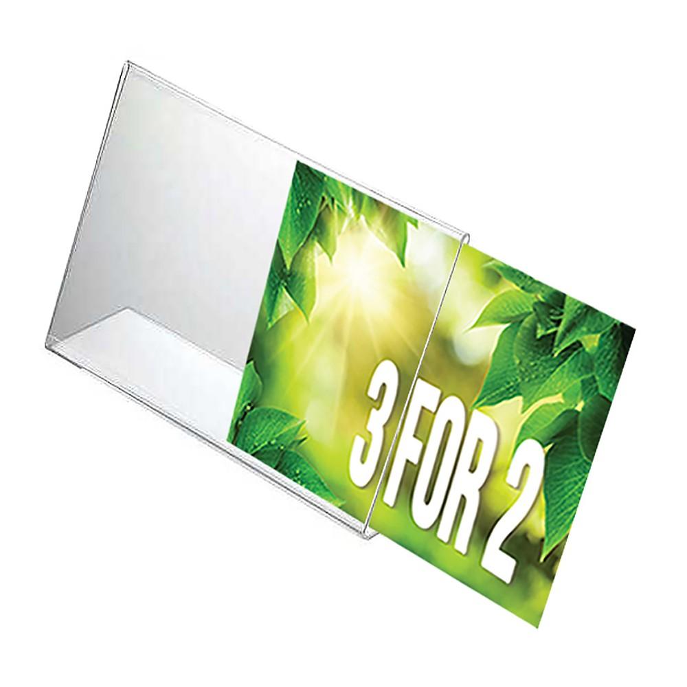 Plexi plakatholder skift enkelt plakat