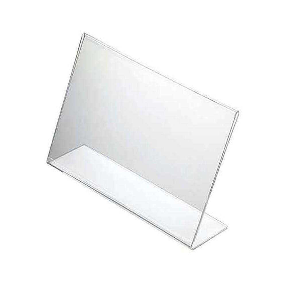 Plexi plakatholder liggende uten plakat