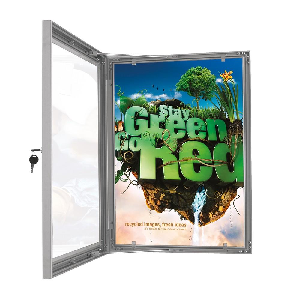 Posterboks - er låsbar slik at ingen utenforstående kommer til
